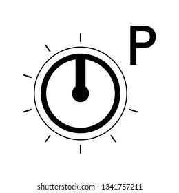 Program mode switch. Isolated Switch Icon