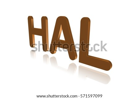 Programming Term Hal Hardware Abstraction Layer Stock Illustration