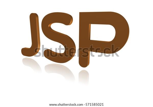 Programming Term Jsp Java Server Pages Stock Illustration 571585021