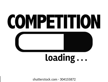 Progress Bar Loading with the text: Competition