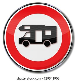 Prohibition for RVs in this area