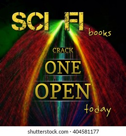 Promotion for Science Fiction books - invitation to read one
