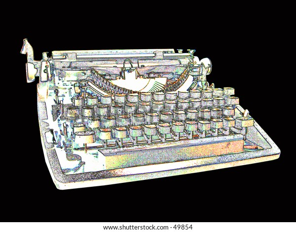 Psychaedelic Typewriter