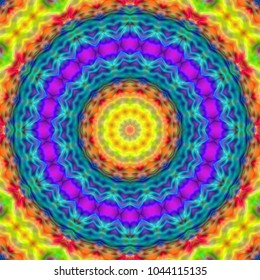 psychedelic background.bright colorful patterns. background screensaver..Magic graphics.