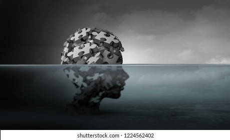 Psychological distress of children and child psychology mental health concept as a symbol of vulnerable youth suffering from childhood depression or the pain of domestic violence as a 3D illustration.