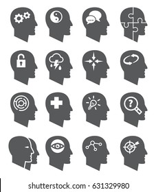 Psychology icons