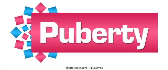 Puberty Pink Blue Circular Bar