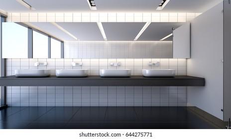 Public Restroom Images Stock Photos Amp Vectors Shutterstock