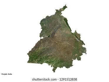 Puducherry, India Map (3D rendering)