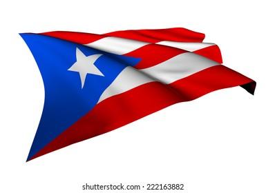 Puerto Rico flag - collection no_5