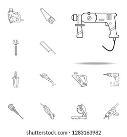 puncher icon. Home repair tool icons universal set for web and mobile