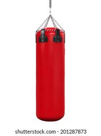 Punching Bag Isolated