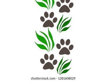 Puppy nature pattern