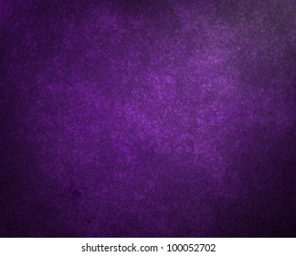 purple background with black vintage grunge texture and dark black shadows on border of frame with highlight for copy space