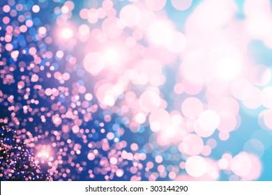 Purple bokeh  Purple glitter background