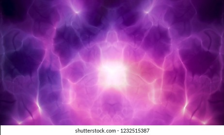 Purple colorful smoke Background. Dark abtract posters for music event, party invitation.
