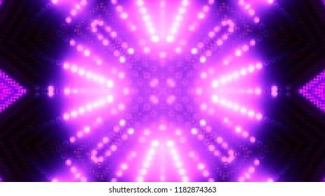 Purple mosaic lights background