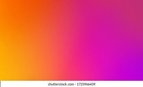 Purple, Pink, Orange and Yellow Colors Vivid Mesh Gradient Creative Defocused Colorful Blurred Motion Digital Flow Smooth Abstract Background Art Illustration