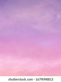 purple pink sky fantasy aesthetic 260nw 1679098813