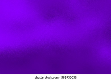 Purple Ultra violet foil background, metal texture