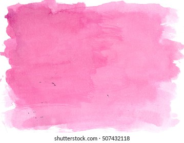 Purple watercolor background, luscious palette. Abstract canvas with paper texture.