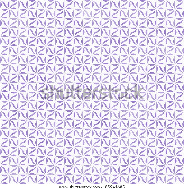 Purple and White Decorative Swirl Design Textured Fabric Background that is seamless and repeats
