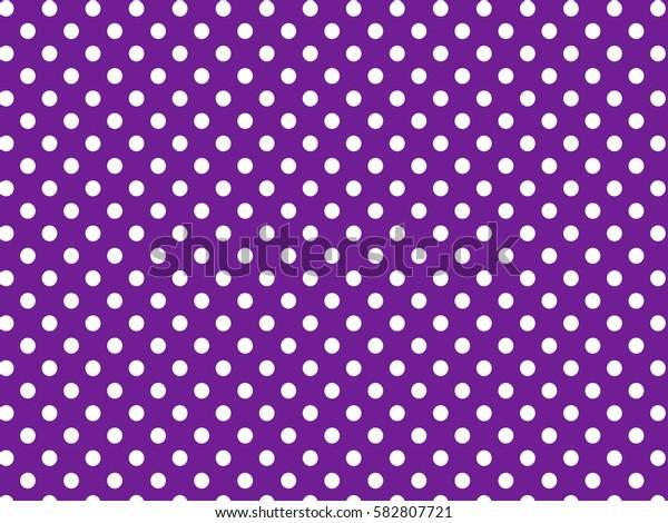Purple white dots pattern