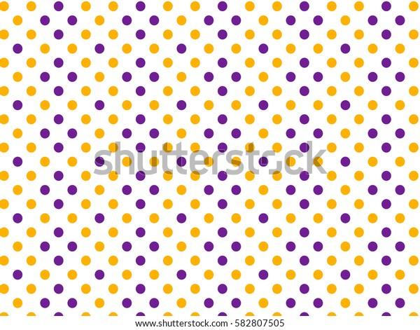 Purple yellow dots pattern