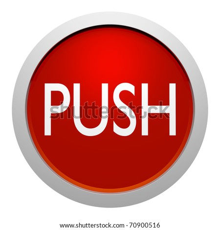 push botton sign stock illustration 70900516 shutterstock