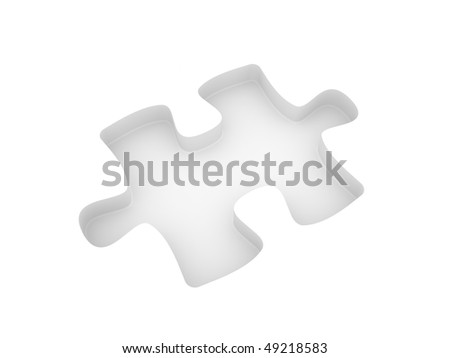 A Puzzle Is Cut Out Of White Plane Concept Image For Strategy Inspiration