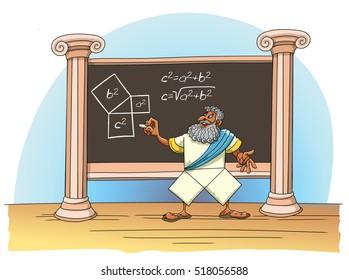 Pythagoras proved his theorem