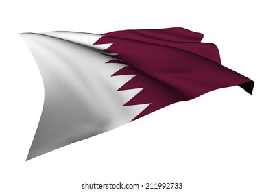 Qatar flag - collection no_5