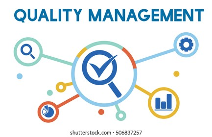 Quality Management Check Icon Concept