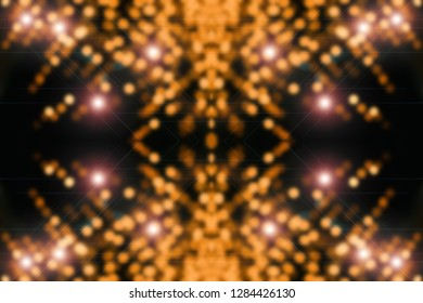 Quantum orange background. Digital backdrop. Sparkle virtual texture. Shiny surface design. Beautiful virtual reality. Abstract cyberspace with copy space. Microcircuit close-up. Digital element.