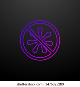 Quarantine outline nolan icon. Elements of security set. Simple icon for websites, web design, mobile app, info graphics