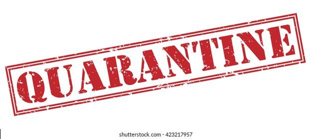 quarantine stamp