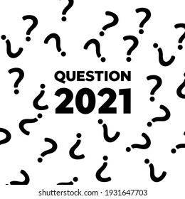 Question mark pattern. Question design background