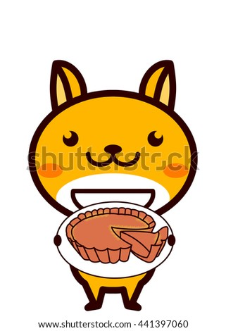 Quiche Lorraine and animal series