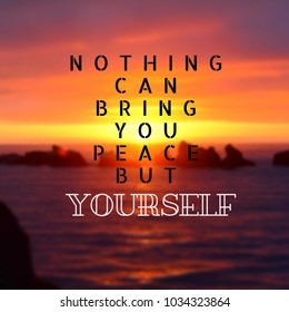life quote inspirational quote on sunset stock photo edit now