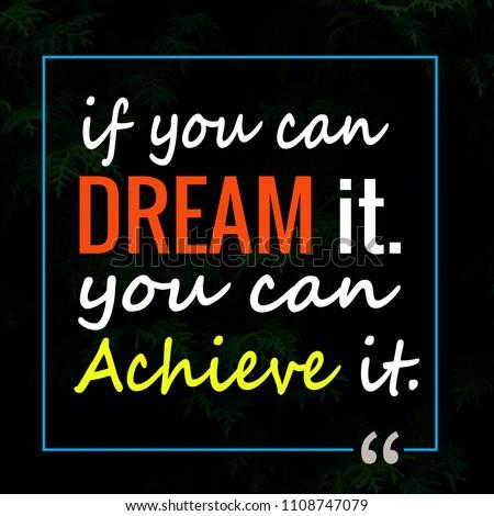 b005c66091e3 Quotes Success Motivation Inspiration Stock Illustration - Royalty ...