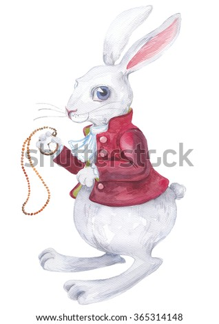 Rabbit from Alice in