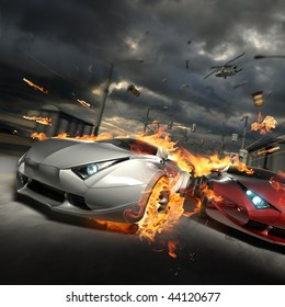 Red Race Car Images, Stock Photos & Vectors | Shutterstock