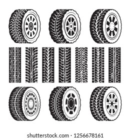 Racing wheels and their protector shapes