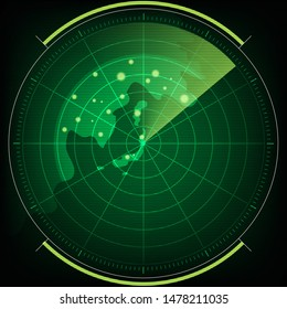 radar screen technology in search