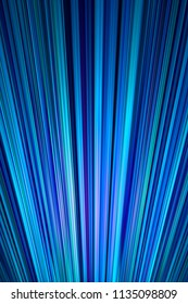 Radiating blue and green stripes background