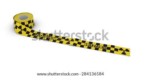 Radiation Hazard Tape Roll
