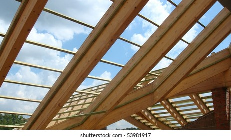 Rafters on a roof