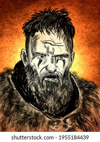 Ragnar Lothbrok, 9th-century Viking whose historical existence is difficult to distinguish from legend in medieval European literature.