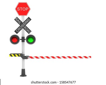 A rail road signal