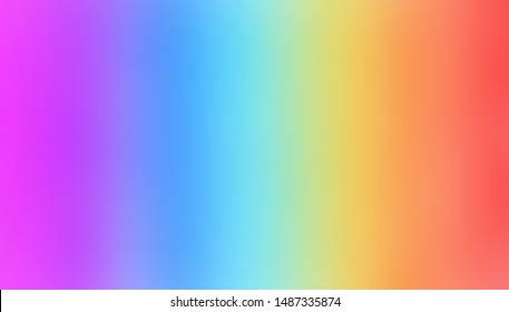 rainbow colors air brush shade on texturiser paper. Abstract rainbow color red, green, yellow, orang stripe on white background. Bright background with space for text and/or image